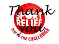 Sports Relief total!!! Brilliant